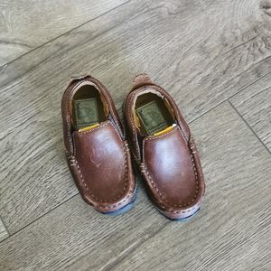 Timberland toddler leather shoes 5.5